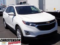 2018+Chevrolet+Equinox+LT+In+Summit+White.+Turbocharged