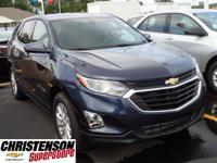 2018+Chevrolet+Equinox+LT+In+Blue.+Gasoline%21+Turbocha