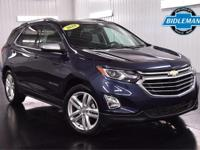 Options:  Pre-Owned 2018 Chevrolet Equinox Premier|Blue