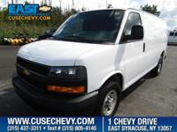 Look at this 2018 Chevrolet Express Cargo Van CARGO.