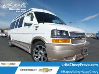 This Chevrolet Express Cargo Van delivers a Gas/Ethanol