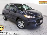 Recent Arrival! 2018 Chevrolet Trax Storm Blue Metallic