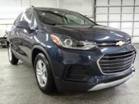 Storm Blue Metallic 2018 Chevrolet Trax 1LT FWD 6-Speed
