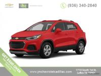 New Price! $2,536 off MSRP! 2018 Chevrolet Trax 1LT
