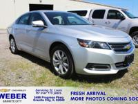 Recent Arrival! Silver Chevrolet Impala **ANOTHER WEBER