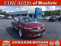 **2018 Chevrolet Impala Premier**One Owner**Certified