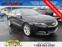 This 2018 Chevrolet Impala Premier in Black is well