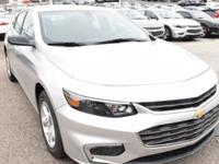 New Price! Silver Ice Metallic 2018 Chevrolet Malibu LS