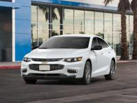 Delivers 36 Highway MPG and 27 City MPG! This Chevrolet