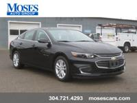 New Price! 2018 Black Metallic Chevrolet Malibu LT 1LT