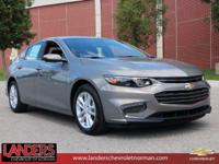 New Price! Pepperdust Metallic 2018 Chevrolet Malibu LT