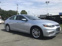 2018 Chevrolet Malibu LT Blue 27/36mpg  This is a one