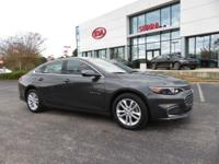 Clean CARFAX. Gray Metallic 2018 4D Sedan Chevrolet