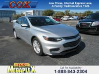 This 2018 Chevrolet Malibu LT in Silver is well