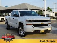 2018 Chevrolet Silverado 1500 Custom 6-Speed Automatic,