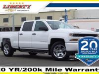 New Price! Summit White 2018 Chevrolet Silverado 1500