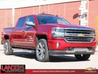 Cajun Red Tintcoat 2018 Chevrolet Silverado 1500 High