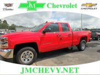 $3,917 off MSRP! 2018 Chevrolet Silverado 1500 LS