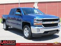 New Price! Deep Ocean Blue Metallic 2018 Chevrolet