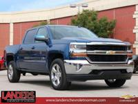 Deep Ocean Blue Metallic 2018 Chevrolet Silverado 1500