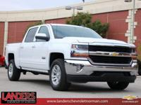 Summit White 2018 Chevrolet Silverado 1500 LT LT1 4WD