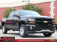 Black 2018 Chevrolet Silverado 1500 LT LT2 4WD 6-Speed