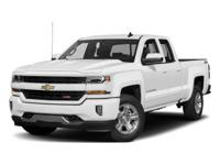 2018 Chevrolet Silverado 1500 LT 6-Speed Automatic