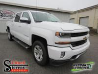 Summit White 2018 Chevrolet Silverado 1500 LT LT2 4WD