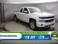 Recent Arrival! Summit White 2018 Chevrolet Silverado