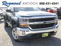 New Price! Black 2018 Chevrolet Silverado 1500 LT LT1