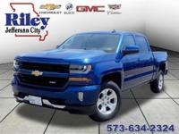Riley Red Tag Sale! Deep Ocean Blue 2018 Chevrolet