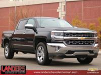 Black 2018 Chevrolet Silverado 1500 LTZ 1LZ RWD 6-Speed