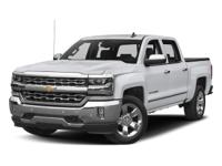 2018 Chevrolet Silverado 1500 LTZ 8-Speed Automatic,