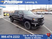 Black+2018+Chevrolet+Silverado+1500+LTZ+2LZ+4WD+8-Speed
