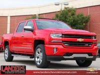 Red Hot 2018 Chevrolet Silverado 1500 LTZ 2LZ 4WD