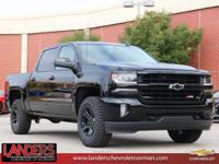 Black 2018 Chevrolet Silverado 1500 LTZ 2LZ 4WD 8-Speed