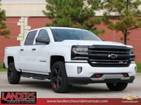 Summit White 2018 Chevrolet Silverado 1500 LTZ 2LZ 4WD