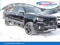 Black 2018 Chevrolet Silverado 1500 LTZ 2LZ 4WD 6-Speed