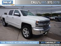 Here is a well-appointed crew cab Silverado. This four