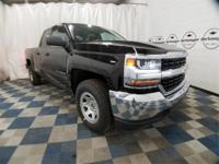 New Price! Black 2018 Chevrolet Silverado 1500 WT 4WD