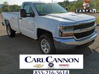 Summit White 2018 Chevrolet Silverado 1500 WT 4WD