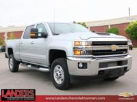 Silver Ice Metallic 2018 Chevrolet Silverado 2500HD LT