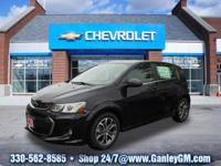2018 Chevrolet Sonic LT 34/25 Highway/City MPG New