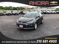 This new Chevrolet Sonic LT Auto is now for sale in San