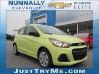 The 2018 Chevrolet Spark is a little small, but a lot