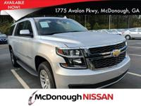 Look at this 2018 Chevrolet Suburban LT. Its Automatic