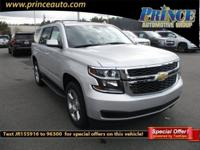 2018 Chevrolet Tahoe LS Black Cloth, ABS brakes,