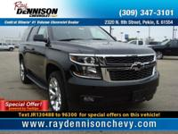 Black 2018 Chevrolet Tahoe LT 4WD 6-Speed Automatic