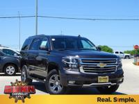 2018 Chevrolet Tahoe LT 4WD, Black Leather, ABS brakes,