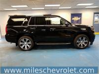 Black 2018 Chevrolet Tahoe Premier 4WD 6-Speed